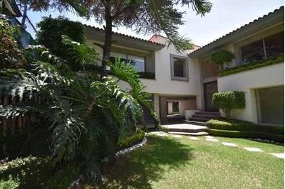Preciosa Casa En Renta Amueblada, Jardines Del Pedregal