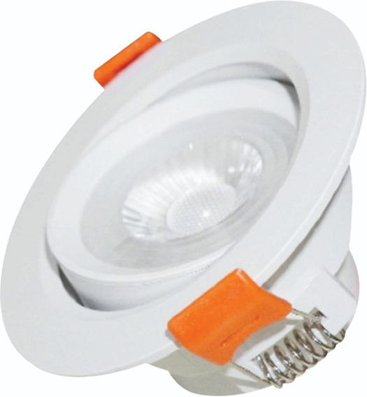 Kit 10 Spot Super Led 9w Branco Frio/q Lampada Redondo Smd