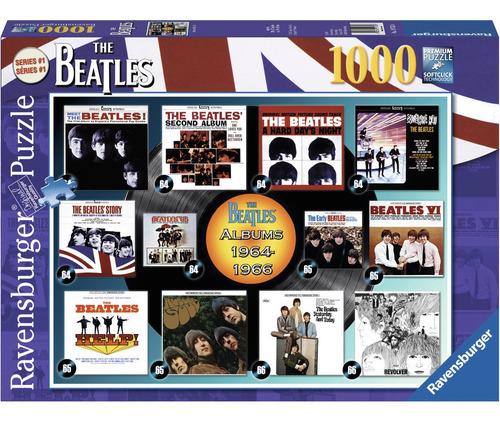 Rompecabezas 1000 Piezas Ravensburger Portada Discos Beatles