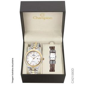 Relógio Champion Analógico Ca21580d Feminino + Pulseira