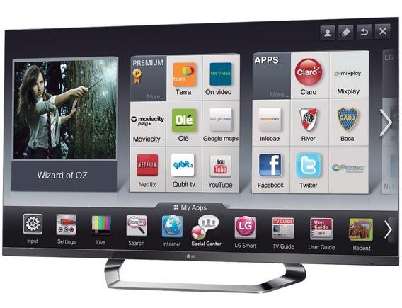 Tv Smart LG Mod. 47la 6200 (usada Defeito Sem Imagem)