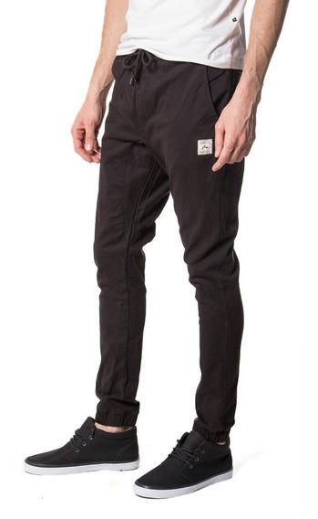 Pantalon Rusty Hook Out Black - Hombre