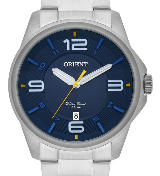 Relógio Orient Masculino Original Mbss1288 D2sx + Nf