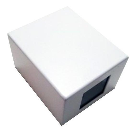 Arandela Quadrada Kasse Multifoco Branca - Metaldomado -