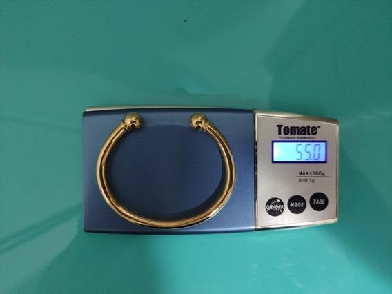 Bracelete Masculino De Ouro 18k 55g
