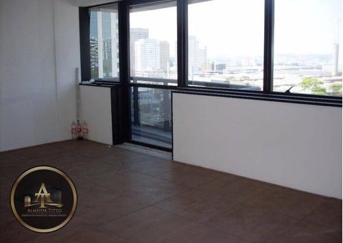 Excelente Sala Comercial Para Locação No Edifício Murano Bussines Office -alphaville.- Confira ! - Sa0103