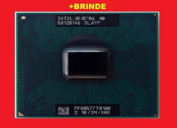 Processador Core 2 Duo T8100 2.1 Ghz 479