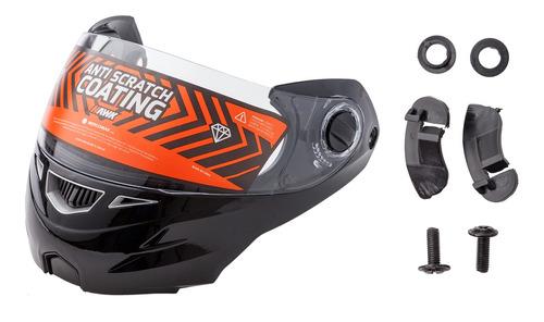 Repuesto Hawk Rs5/vector Kit Mentonera Negra C/visor Casco M