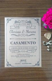 5000 Convites De Casamento Personalizados