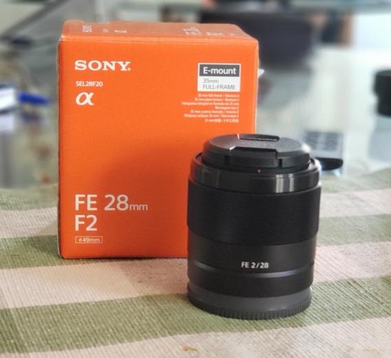 Lente Sony Fe 28mm F/2.0