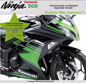Adesivo Kawasaki Ninja 300 Edição Limitada Preta