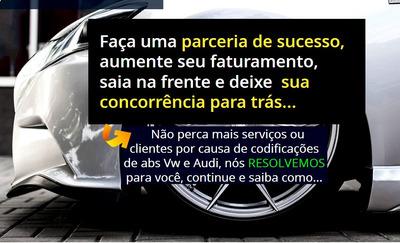 Codificação De Abs Vw E Audi -seja Afiliado Plano Básico