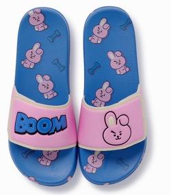 Bt21 Bts Sandalias Slipper Velcro Nuevo Diseño 2019 Original