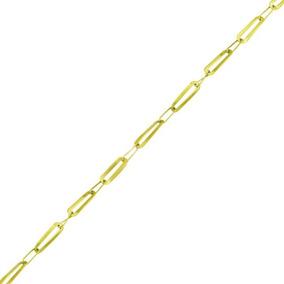 Corrente Ouro 18k Elos Alternados 40cm 1,9gr Vj8286