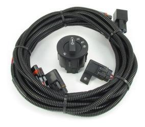 2010-2012 V6 Mustang Fog Light Wiring Switch Kit