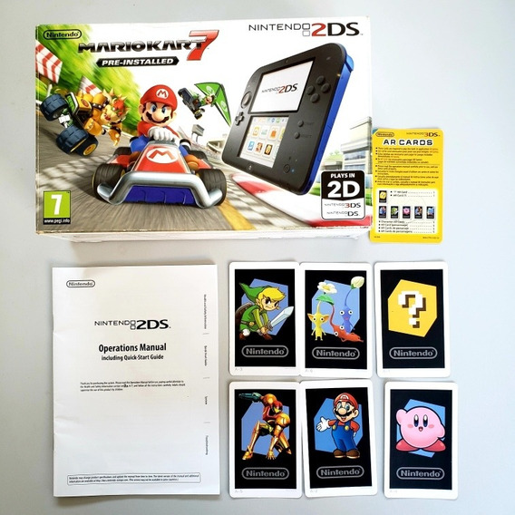 Caixa Vazia 2ds Mario Kart Europeu