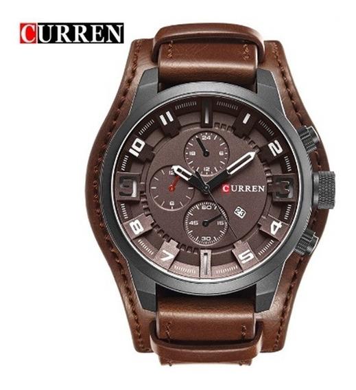 Relógio De Pulso Masculino Curren 8225 Original