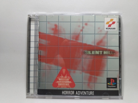 Silent Hill 1 - Ps1 - Original Japonês