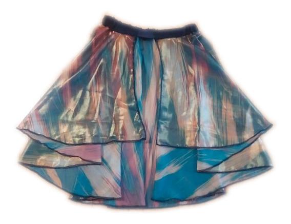 Pollera De Gasa Vestuario Danza Ballet Patinaje