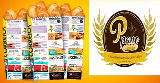 Kit Para Publicidade Em Saco De Pão