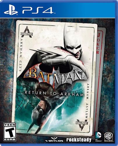 Imagen 1 de 1 de Batman Arkham Return - Ps4 Fisico Nuevo & Sellado