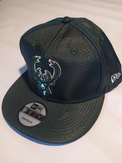 Gorra Snapback Milwaukee Bucks