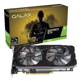 Placa De Vídeo Galax Gtx 1660 Oc One Click 6gb Ddr5 12x