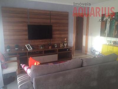 Belo Apartamento No Edifício Veredas Do Sol 150 M² Jardim Aquarius - Ap0466