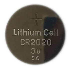Bateria Pilha Cr2020 3v - 01 Unid - Frete R$16,00 Pergunte