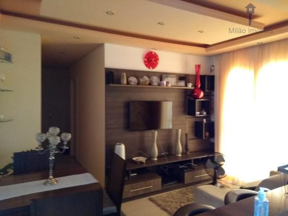 Apartamento Com 2 Dormitórios À Venda, 72 M² - Condominio Evidence - Vila Trujillo - Sorocaba/sp - Ap0497