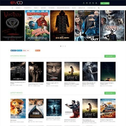 Ovoo - Script De Filmes, Séries E Tv Online Com Aplicativo