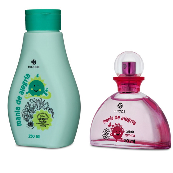 Sabonete Líquido + Fragrância Colônia Para Menina