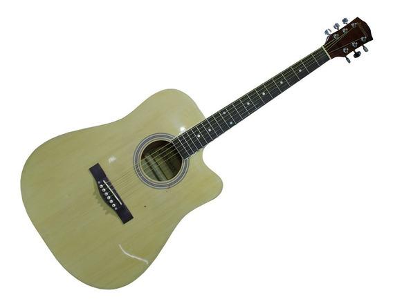 Guitarra Electro Acustica Profesional Jendrix Natural