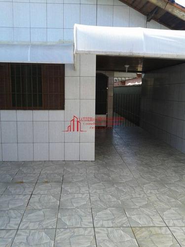 Casa Térrea Para Venda Em Mongaguá 2 Dorm - 1349