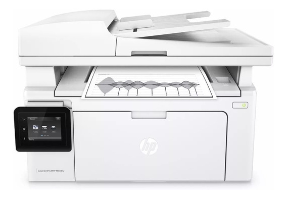 Impressora Hp Laserjet Pro Mfp M130fw Wireless 110v Lacrada