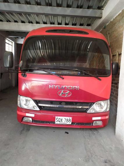 Micro Bus Hyundai County Modelo 2012 Intermunicipal Sin C