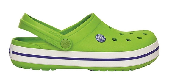 Crocs Crocband 11016 Volt Green - Varsity Blue (1026)