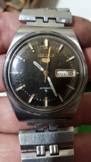 Relógio Seiko 5 Automátic Vintage 9d3494 6309-8150