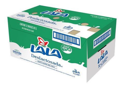 Leche Lala Deslactosada 12 Pzas De 1 L C/u