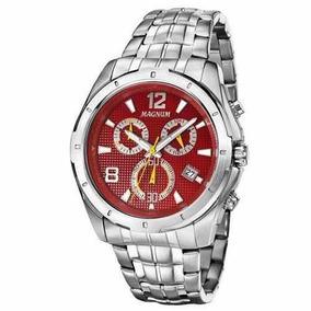 Relógio Magnum Masculino Cronógrafo Ma33488v