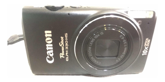 Câmera Fotográfica Canon Powershot Elph 330 Hs