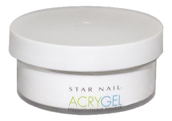 Pó Acrygel Uv Star Nail Clear 45g Acrílico Alongamento Unhas