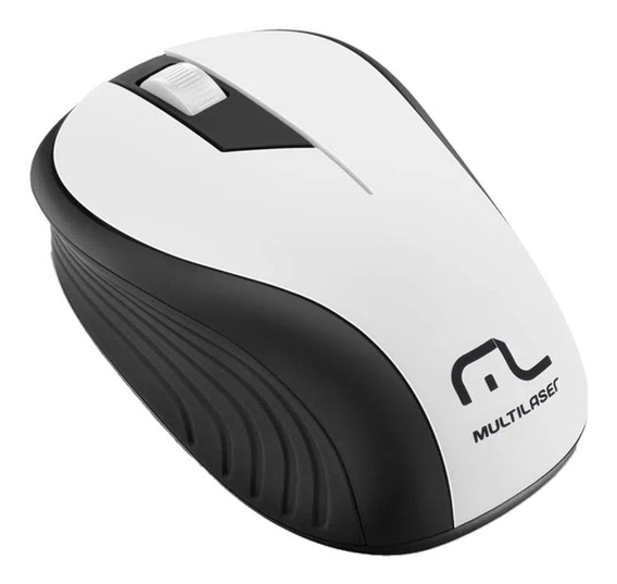 Mouse Sem Fio 1200dpi 2.4ghz Alcance 10mts Multilaser Mo212