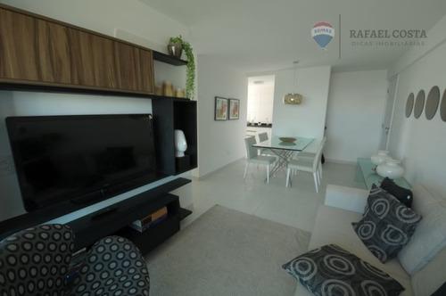 Apartamento Em Indianópolis, Caruaru/pe De 73m² 3 Quartos À Venda Por R$ 445.118,00 - Ap978369