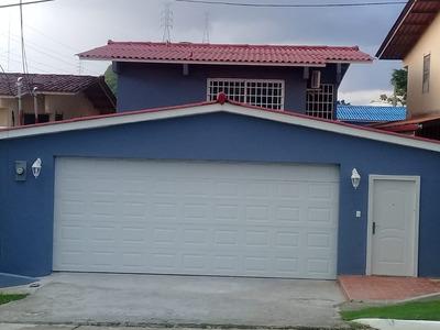 Alquilo Hermosa Casa Amoblado En Altos De Panama-cr