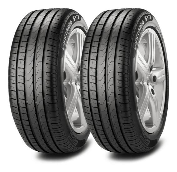 Kit X2 Pirelli 195/55 R15 85h P7 Cint. Neumen Ahora18