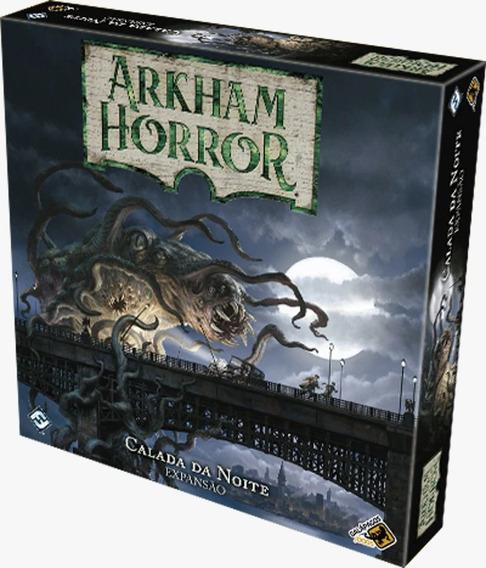 Arkham Horror Calada Da Noite Expansão De Jogo De Tabuleiro