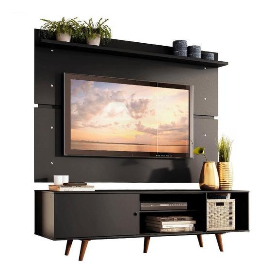 Rack Madesa Dubai E Painel Para Tv Até 65 Polegadas Com Pés