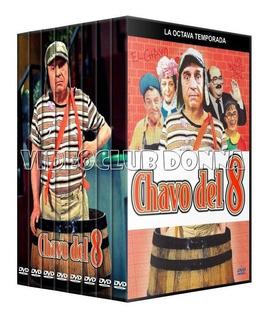 El Chavo Del Ocho 8 Coleccion Dvd 8 Temporadas + Especiales