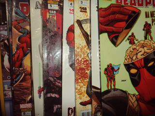 Deadpool Segunda Serie 1 A 12 Completa Panini Excelentes